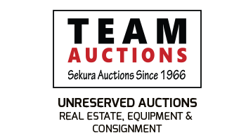 Team Auctions - Real Estate, Equipment Consignment
